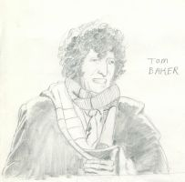 Doctor Who Tom Baker by TheContemplativeMonk