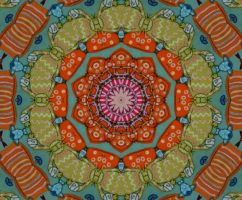 Pattern v5 cats and fishes by marjol3in