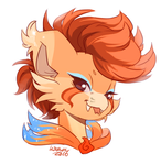 (GIFT) Dragon's Head by Kitkabean