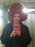 Just me... Wearin an afro by KMKramer44