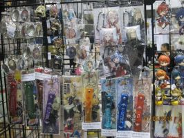 Keychains of Guilty Crown and otherss by SaikouPysho