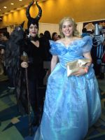 PRCC 2015 Maleficent and Cinderella by DramaDollLover