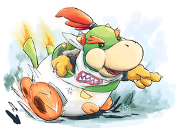 Bowser Jr. by BoshyPastrana