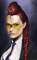 Crimson Viper by JoelWhite