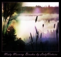 Misty Morning Brushes Part 2 by LadyVictoire