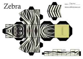 Zebra by Cubee-acres