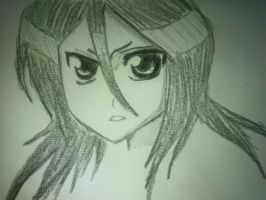 Just Rukia. by chiztaku