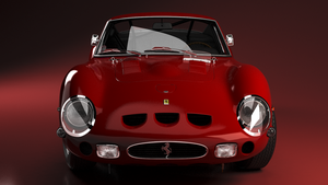 Ferrari 250 GTO by bacarlitos