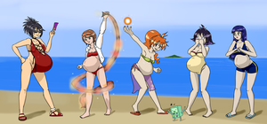The Great Bikini Babe Mash-Up by HidonRedux