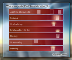 Windows Vista Animation - Red by naruto20007