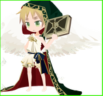 Chibi Angel England (Animated v. in description) by Chocho-Takeda