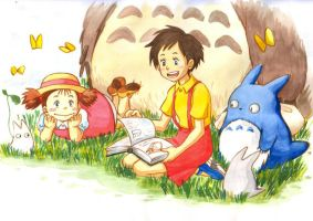 Tonari no Totoro version by lince