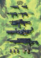 Weapon - 1 by ilison