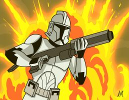 Clone Trooper by Amish56