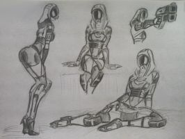 sketches Tali (44) by spaceMAXmarine
