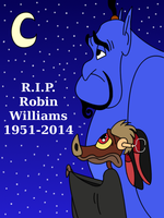 Farewell Robin Williams by ToonGamer23
