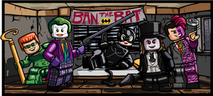 Batman Movie Villains. by Catanas192