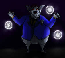 Ghostmaster -Powerful and Evil by devilmanozzy