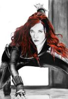 The Black Widow by ChadKilloran