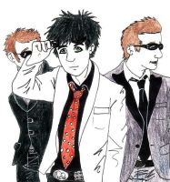 Green Day Rockin' The Glasses by CaptainKPeanuts
