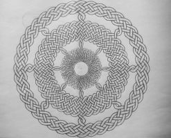 Circular celtic knots by Trablete