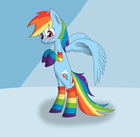 Rainbow Socks by zogzor