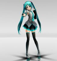 Appearance Miku adult version MMD download by Reon046
