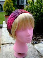 Entrelac Hairband 1 by knerdy-knits