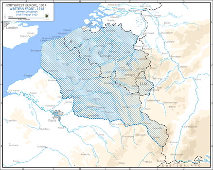 Western front, Post-war Occupation by Jake456