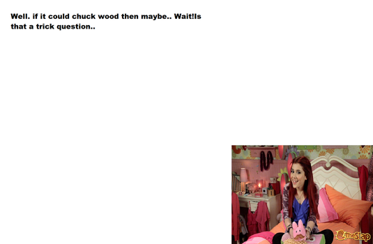 WoodChuck   Question 3 by Ask--CatValentine