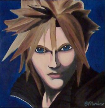 Cloud Strife by UveBeenHexxed666