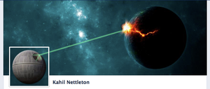 Death Star Facebook Timeline Cover by kahil