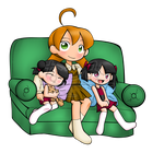 Com: Brina and the Twins by Natsumi-chan0wolf