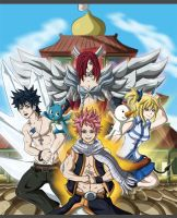 Fairy Tail: A Heartfelt Welcome by Grim-Raider