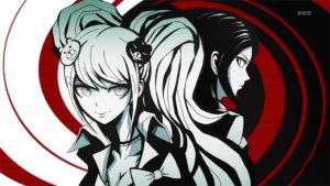 Danganronpa-the-animation-twins-mastermind by Rosyane