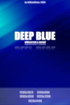 Deep Blue by DJMattRicks