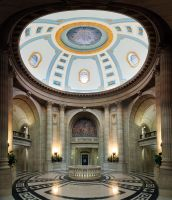 Inside the Legislative Building 12 Pic Panorama by Joe-Lynn-Design