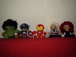 Avengers WIP by Ginger-PolitiCat