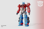 Optimus Prime (my own rendition) by multihawk