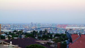 Long Beach City and San Pedro by CZProductions
