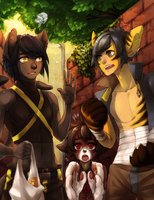 Cat Fight by Jotaku