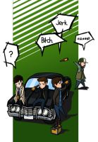 and the Impala makes five by Shirozora