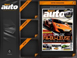 Projet Application Ipad Sportauto v.2 by JFDC