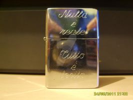 Assassin Creed Engraved Zippo by NothinToSay