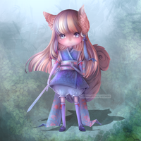 (CLOSED) - Sweet Kunoichi Adoptable #034 by Timothy-Henri