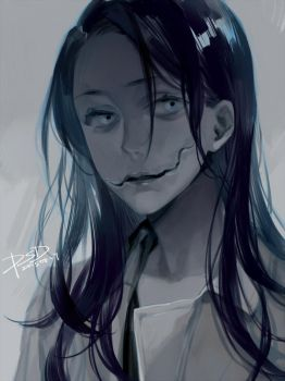 Kuchisake onna by PSlenDy