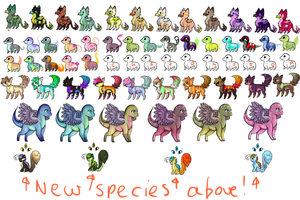 HUGE ADOPTABLE SHEET .:OPEN:. by S-P-E-C-C-Y