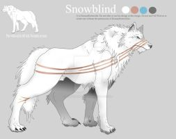 Snowblind - Character Sheet by RomanRottweiler