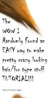 Random easy hair tut thingy by AGOGsoft