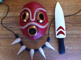 Mononoke accessories by Monstersmommy